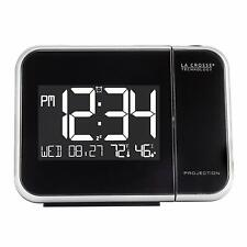 New LaCrosse Projection Alarm Clock with Indoor Temperature and Humiidity