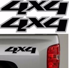 4x4 Chevy GMC Truck 1500 Sticker Vinyl Decal Chevrolet 4 Wheel Drive Graphics