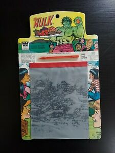 1979 Whitman magic slate Incredible Hulk toy unopened and never used MINT
