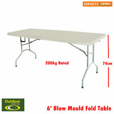 Outdoor Connection Heavy Duty  6′ Blow Mould Fold Table