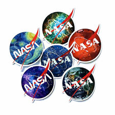 30pcs USA NASA Collectible Laptop Luggage Suitcase Skateboard Bike Stickers New