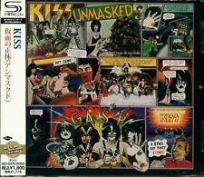 KISS UNMASKED 2013 JAPAN RMST SHM HIGH FIDELITY FORMAT CD - NEW/GIFT QUALITY