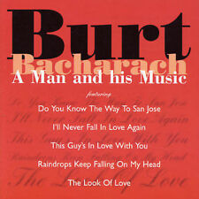 BURT BACHARACH A Man And His Music CD BRAND NEW