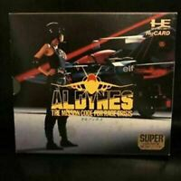 Aldynes PC Engine SG HuCard Hudson Used Japan Import Boxed Tested Working 1991