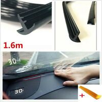 1.6m Soundproof Dustproof Sealing Strip for Auto Car Dashboard Windshield+tools
