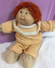 Cabbage Patch doll Vintage Red Hair 1982 Original Diaper!