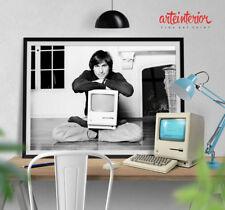 Steve Jobs - Fine Art Poster Apple Macintosh 128K Think Different - Alta Qualità