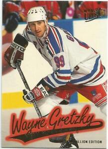 1996-97 Fleer Gold Medallion Wayne Gretzky #G106 new york rangers mint
