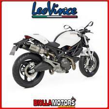 8281E SCARICHI LEOVINCE DUCATI MONSTER 796 2010-2014 LV ONE EVO INOX/CARBONIO