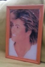GEORGE MICHAEL 'close up'  rare and unusual 12x9 inch mirror