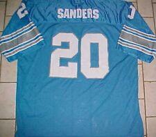 00075ec77 Barry Sanders  20 Detroit Lions NFL NFC Adult Unisex Honolulu Blue Jersey 54