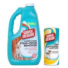 Simple Solution Hardfloors Stain & Odour Remover + Urine Dry Carpet Powder