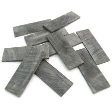 20 Buffalo Horn Slices 25mm x 75mm Stickmaking Luthiery Jewellery Inlays