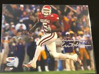🔥Darren McFadden Autographed 8x10 PHOTO Arkansas Razorbacks PSA DNA Rare