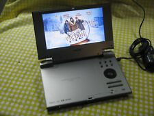 New listing Toshiba Portable Dvd Player Sd-Kp19Sn + Adapter - Tested Working