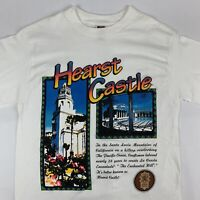 VTG 90s Hearst Castle T-Shirt Mens Medium California