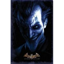 DC COMICS BATMAN ARKHAM ASYLUM JOKER PORTRAIT POSTER 22x34 NEW FREE SHIPPING