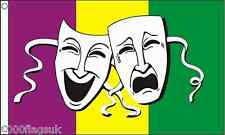 Sock and Buskin Comedy and Tragedy Theatre Banner 5'x3' Flag
