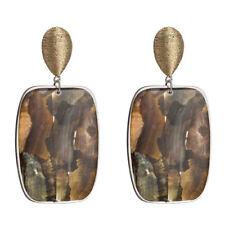 Geometric Big Dangle Drop Earrings Vintage Women Statement Boho Earrings Acrylic