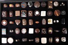 50 piezas al por mayor de joyas mixtas hueso de madera hecho a Mano Natural Moda Anillo muchos 47