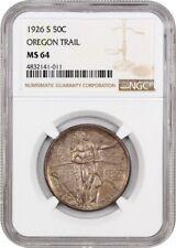 1926-S Oregon 50c NGC MS64 - Silver Classic Commemorative