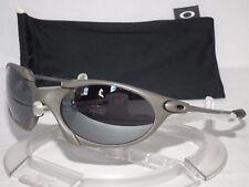 OAKLEY ROMEO SUNGLASSES R1 04-100 X-METAL / BLACK IRIDIUM SERIAL #014298