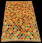 TAIMANY Original Pure Wool Rug / Modern Handmad Carpet 133X90 CM