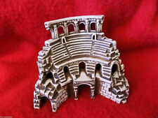 Aquariumdeko Ceramica Argilla Decorazione Acquario Colosseo Romano Edificio