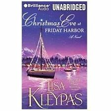 CHRISTMAS EVE AT FRIDAY HARBOR unabridged audio CD by LISA KLEYPAS - Brand New!