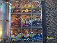 1996 FLEER ULTRA NASCAR COMPLETE 100 CARD SET PLUS SUBSET CARDS