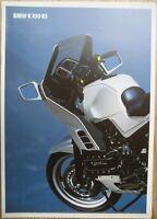 Prospekt BMW Motorrad K100RS  2/90