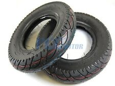 2 MOTARD STREET TIRES W/ INNER TUBES 3.50X8 Z50 MINI TRAIL MONKEY 9 TR65-2TIRES