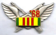 '68 Vietnam Service Ribbon VN 1st Style Air Assault Badge
