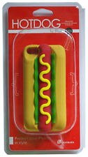 3D Hotdog iphone 5/5s soft touch Silicone protector case