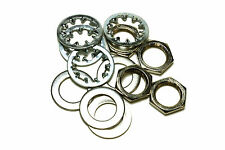 Guitar nuts, washers & lock washers for US CTS Pots & Switchcraft Jacks set of 4