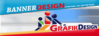 5x Banner Design nach Wunsch Erstellung statischer Bannergrafiken inkl PSD Files