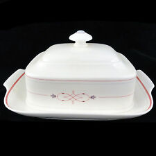 ARAGON Villeroy & Boch Heinrich COVERED BUTTER DISH Bone China NEW NEVER USED