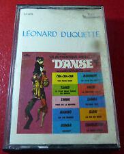 Cassette Audio Léonard Duquette Un Authentique Disque de Danse ! Canada Album