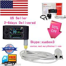 USA Contec handheld TFT Finger Pulse Oximeter, SPO2 Oximetry 24hours USB CMS-60C