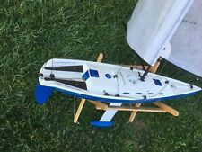 Remote Control Nirvana /Megatech Full Function R/C Sail Boat -