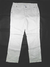 Schicke Damen Jeans Gr.W32/L34 (Gr.44), Weiss,perfekte Passform  (J2621).