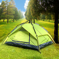 2 Usage Double layer Automatic Camping Tent Instant Beach Shelter Family Outdoor