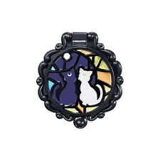 Sailor Moon Artemis, Luna Stained Glass Style Pocket Mirror Compact