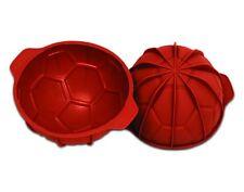 Premium-Silikonbackform Fußball 180 x 95 mm in Gastronomie-Qualität