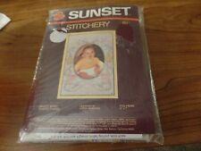 Sunset Stitchery Crewl Kit-Sweet Baby #3068