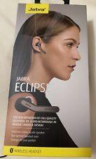 New! Jabra Eclipse Wireless Headset - Black - Wireless - Bluetooth - Brand New