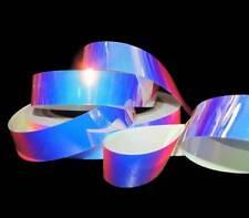 10 Yards Reflective Iridescent Pool Water Acetate Plastic Like Ribbon 3/4