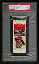 PSA 8 PHIL MYRE Full Unused Philadelphia Flyers Detroit Red Wings Hockey Ticket