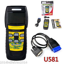 U581 OBD2 OBDII CAN-BUS Car Scanner Live Data Code Reader Diagnostic Scan Tool