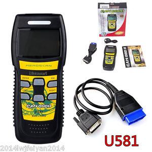 U581 OBD2 OBDII CAN-BUS Car Scanner Live Data Code Reader Diagnostic Scan Tool